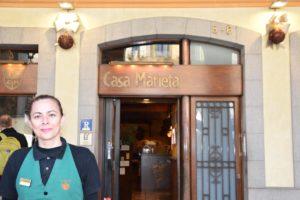 Casa Marieta de Girona restaurant centre de girona on es dina molt be