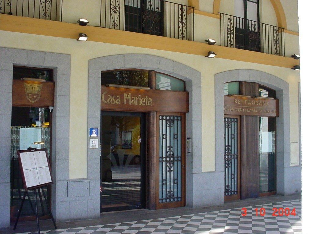 Restaurante en Girona donde comer bien Casa Marieta Girona