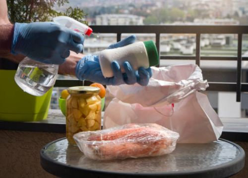 Desinfectantes aplicados a los alimentos