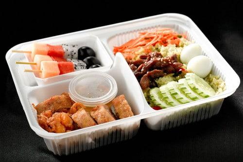 comidas para llevar y takeaway